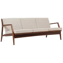 Ib Kofod-Larsen Sculptural Sofa for Selig