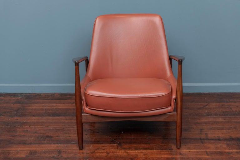 Danish Ib Kofod-Larsen Seal Chair for OPE, Denmark For Sale