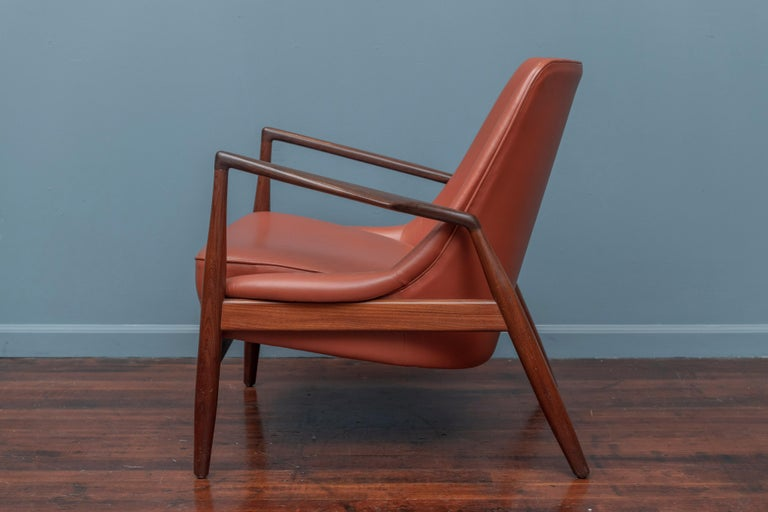 Mid-20th Century Ib Kofod-Larsen Seal Chair for OPE, Denmark For Sale
