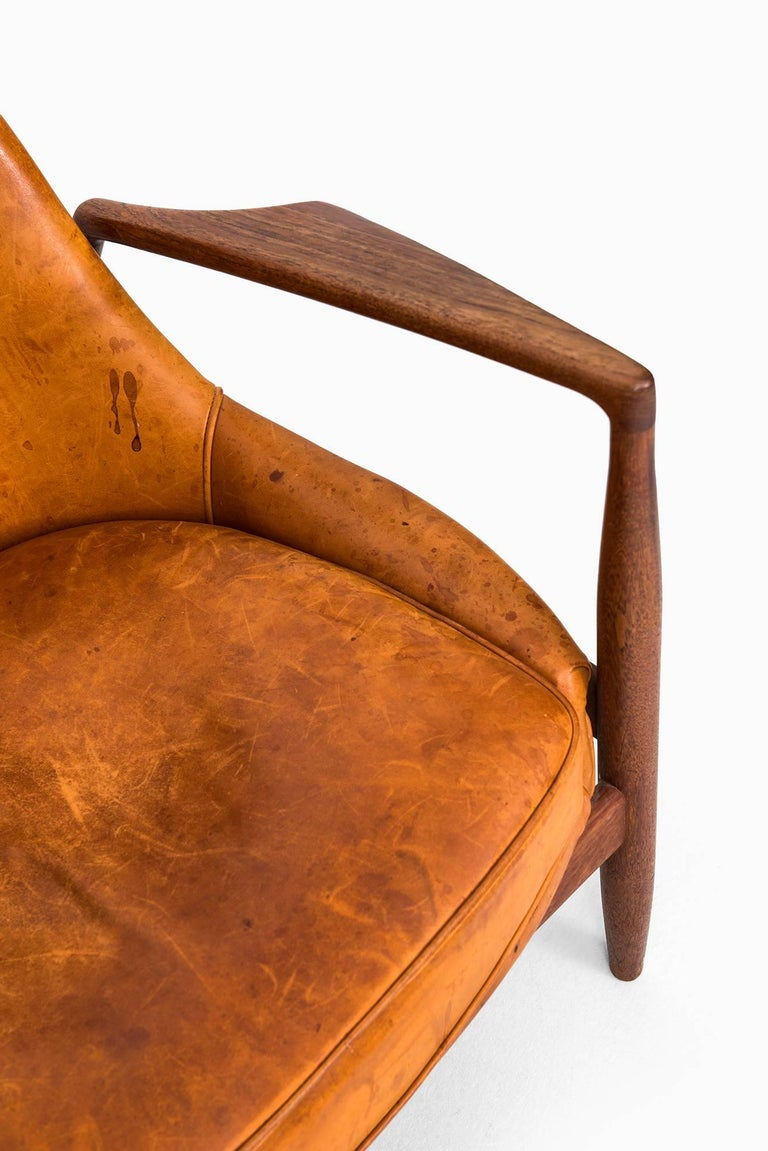 Swedish Ib Kofod-Larsen Seal Easy Chair by OPE in Sweden For Sale