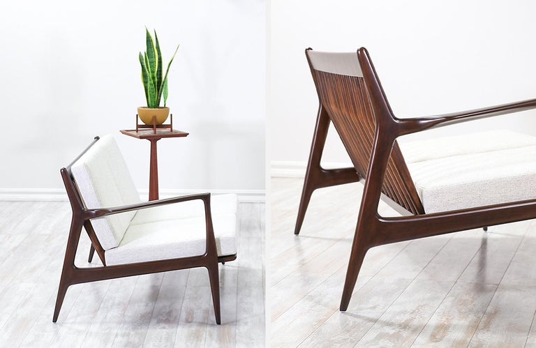 Ib Kofod-Larsen Sectional Sofa or Loveseats for Selig For Sale 5