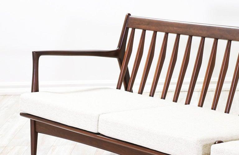 Ib Kofod-Larsen Sectional Sofa or Loveseats for Selig For Sale 2