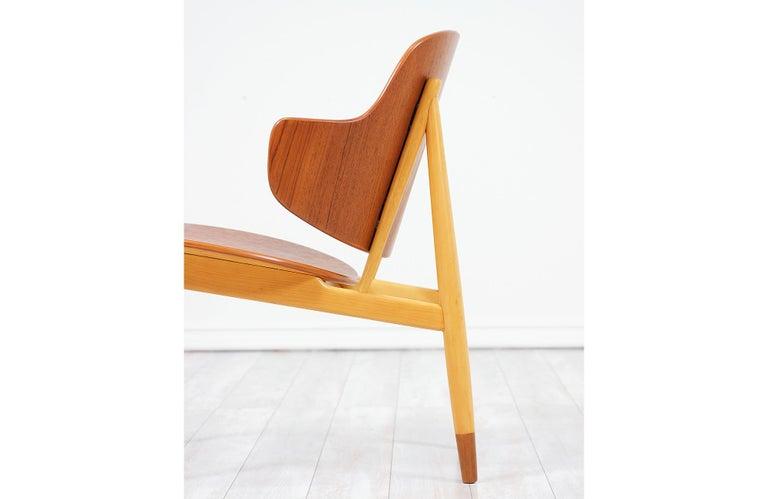 Ib Kofod-Larsen Shell Chair for Christiansen & Larsen For Sale 4