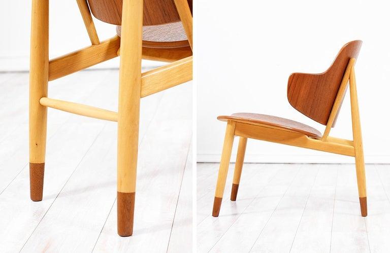 Ib Kofod-Larsen Shell Chair for Christiansen & Larsen For Sale 5