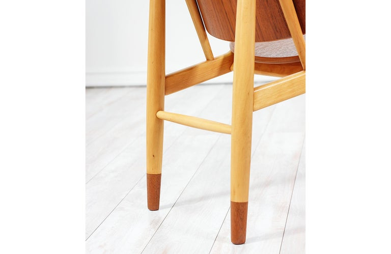 Ib Kofod-Larsen Shell Chair for Christiansen & Larsen For Sale 6