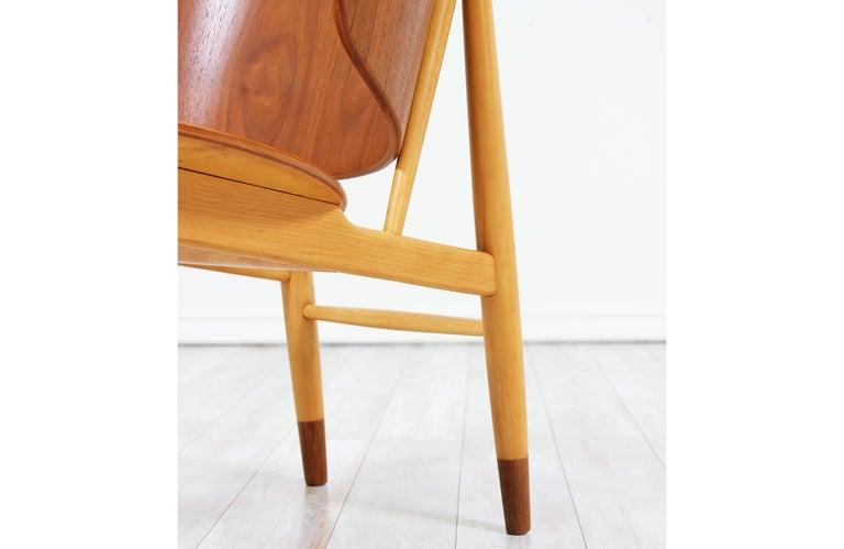 Ib Kofod-Larsen Shell Chair for Christiansen & Larsen For Sale 7