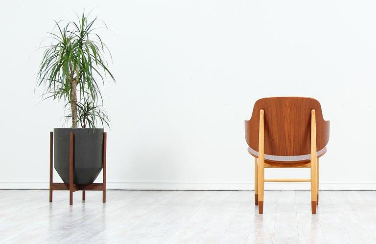 Danish Ib Kofod-Larsen Shell Chair for Christiansen & Larsen For Sale