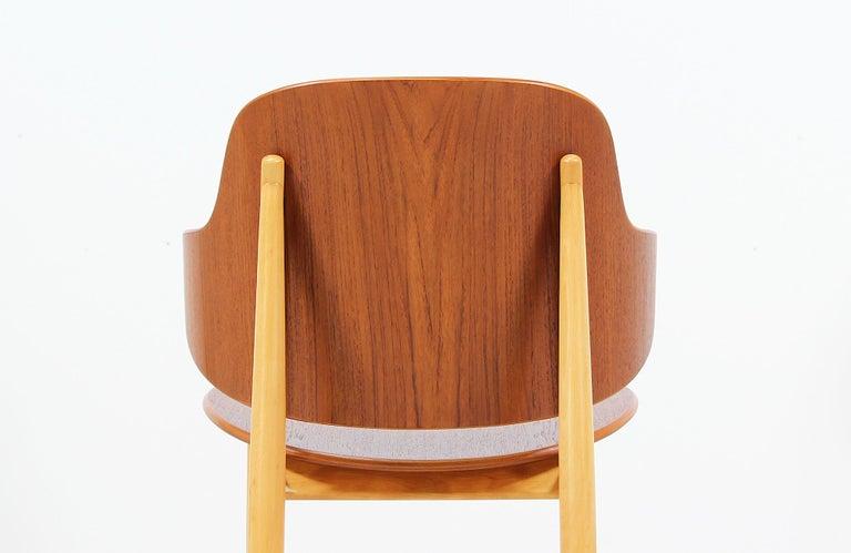 Ib Kofod-Larsen Shell Chair for Christiansen & Larsen For Sale 1