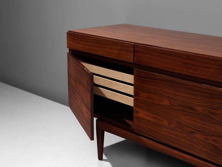 Mid-20th Century Ib Kofod-Larsen Sideboard in Brasilian Hardwood For Sale