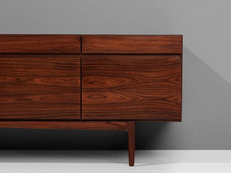 Ib Kofod-Larsen Sideboard in Brasilian Hardwood For Sale 1