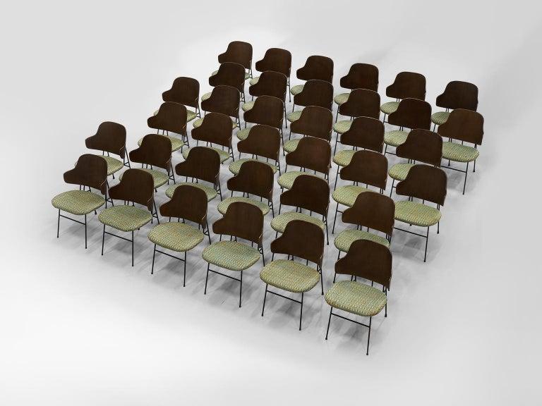 Ib Kofod-Larsen Six Penguin Dining Chairs 3