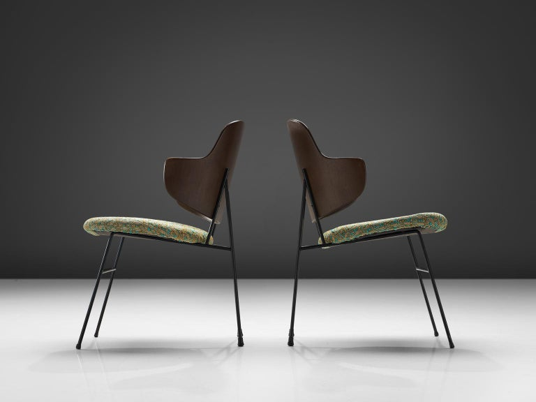 Ib Kofod-Larsen Six Penguin Dining Chairs In Good Condition In Waalwijk, NL