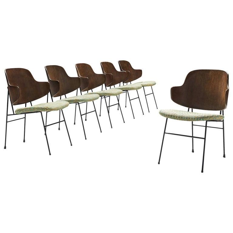 Ib Kofod-Larsen Six Penguin Dining Chairs