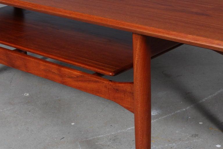 Scandinavian Modern Ib Kofod-Larsen Sofa Table, Teak
