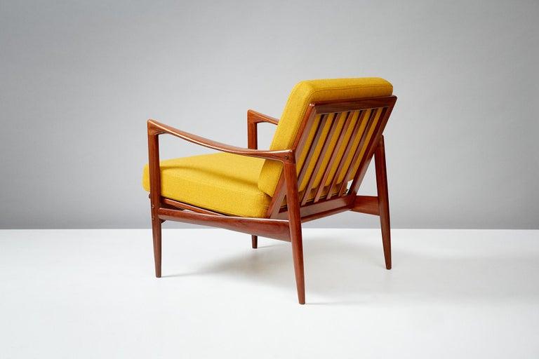 Swedish Ib Kofod-Larsen Teak Candidate Chair, circa 1960 For Sale