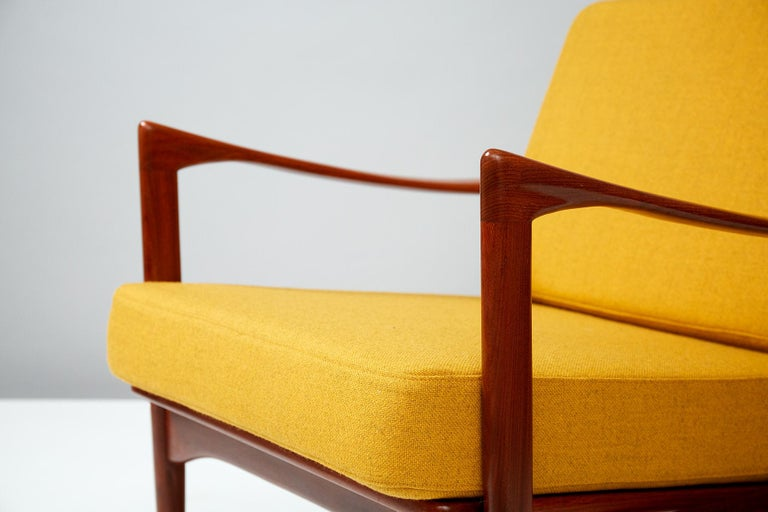 Mid-20th Century Ib Kofod-Larsen Teak Candidate Chair, circa 1960 For Sale