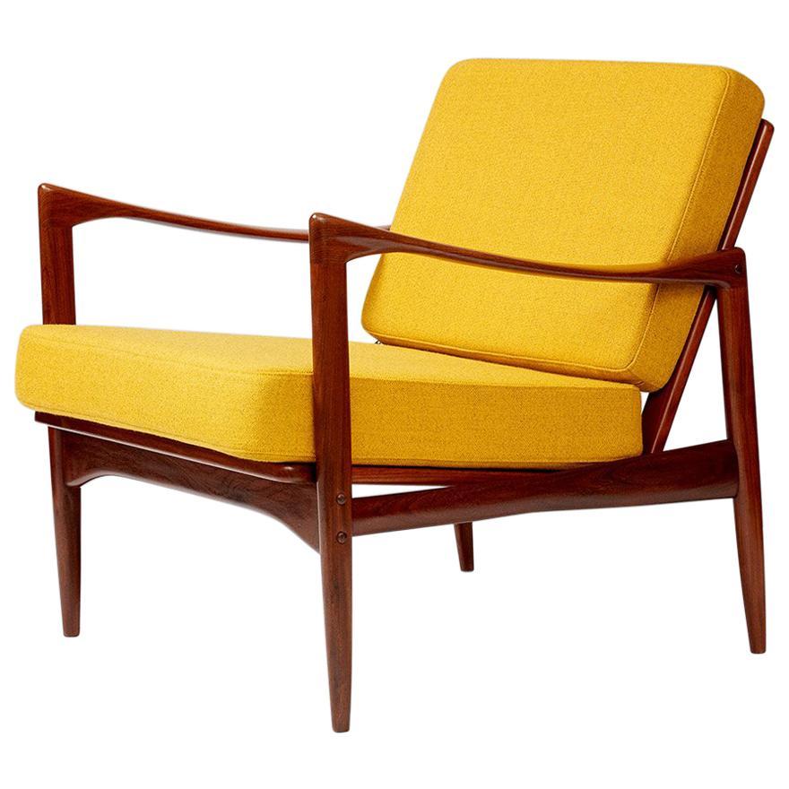 Ib Kofod-Larsen Teak Candidate Chair, circa 1960