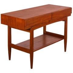Ib Kofod-Larsen Teak Console Table for Faarup