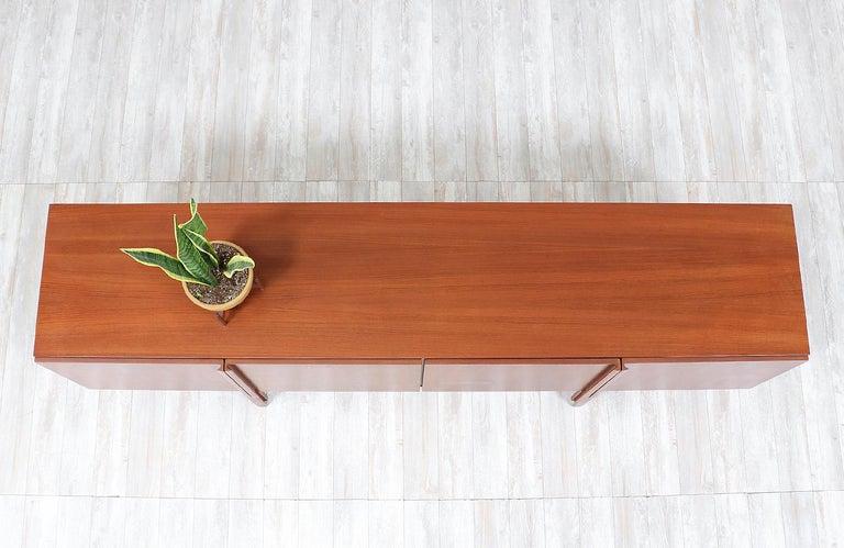 Wood Ib Kofod-Larsen Teak Credenza for Faarup Møbelfabrik For Sale