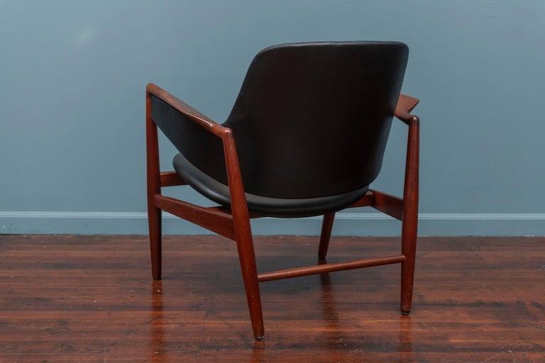 Mid-20th Century Ib Kofod-Larsen Teak Lounge Chair for Christensen & Larsen For Sale
