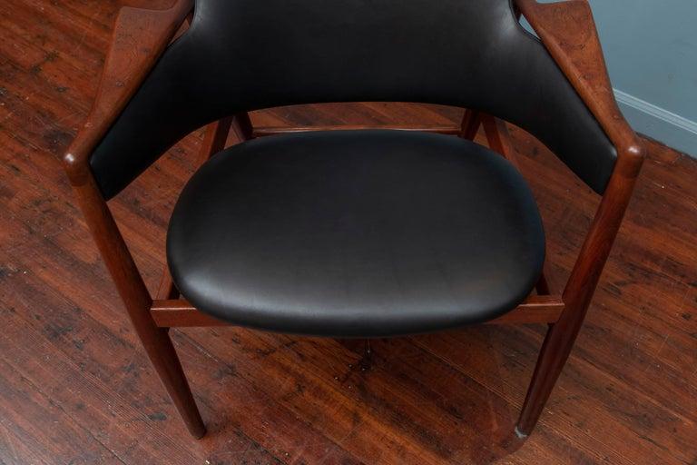 Ib Kofod-Larsen Teak Lounge Chair for Christensen & Larsen For Sale 1