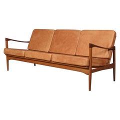 Ib Kofod-Larsen Three Seat Candidate Sofa