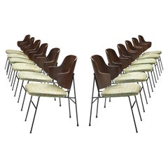 Ib Kofod-Larsen Twelve Penguin Dining Chairs