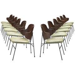 Ib Kofod-Larsen Twelve Penguin Dining Chairs