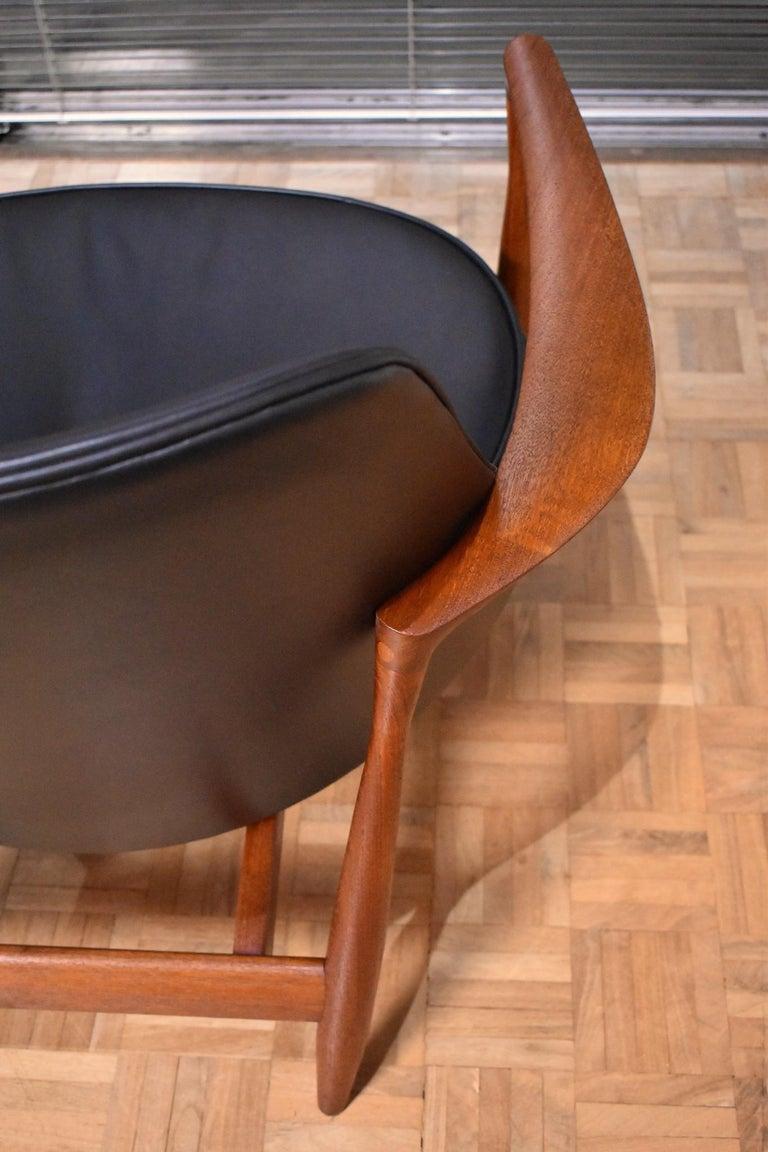 Ib Kofod-Larsen U-56 Elizabeth Chair for Christensen & Larsen For Sale 3