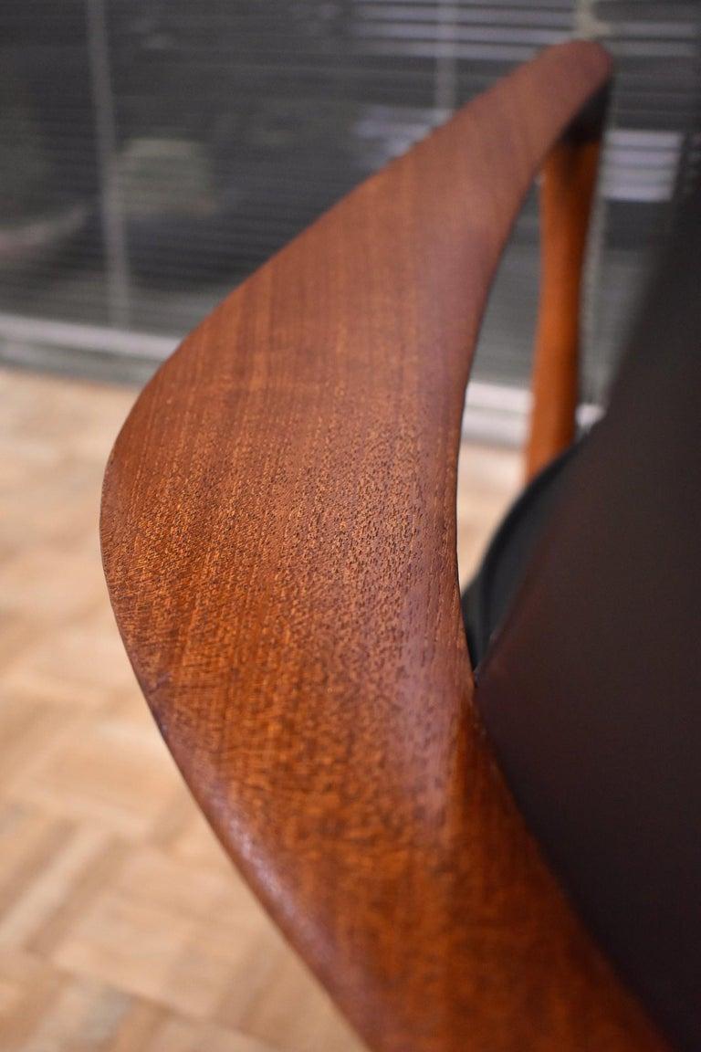 Ib Kofod-Larsen U-56 Elizabeth Chair for Christensen & Larsen For Sale 7