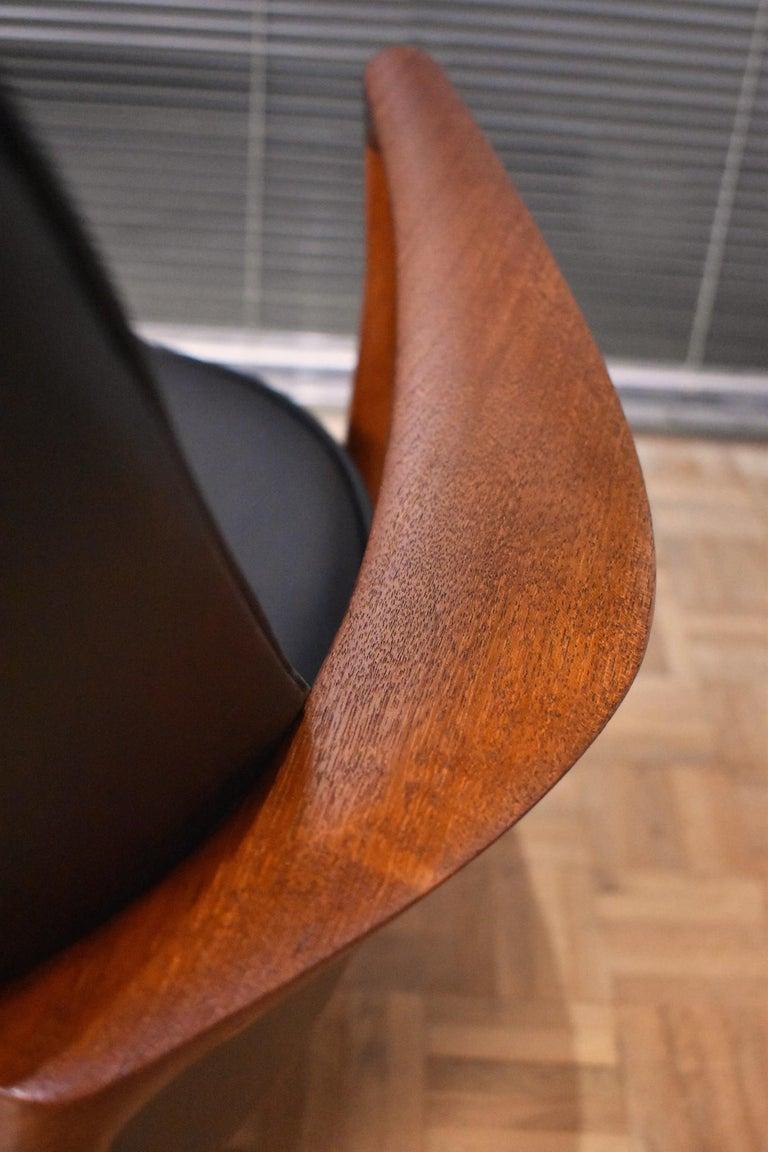 Ib Kofod-Larsen U-56 Elizabeth Chair for Christensen & Larsen For Sale 8