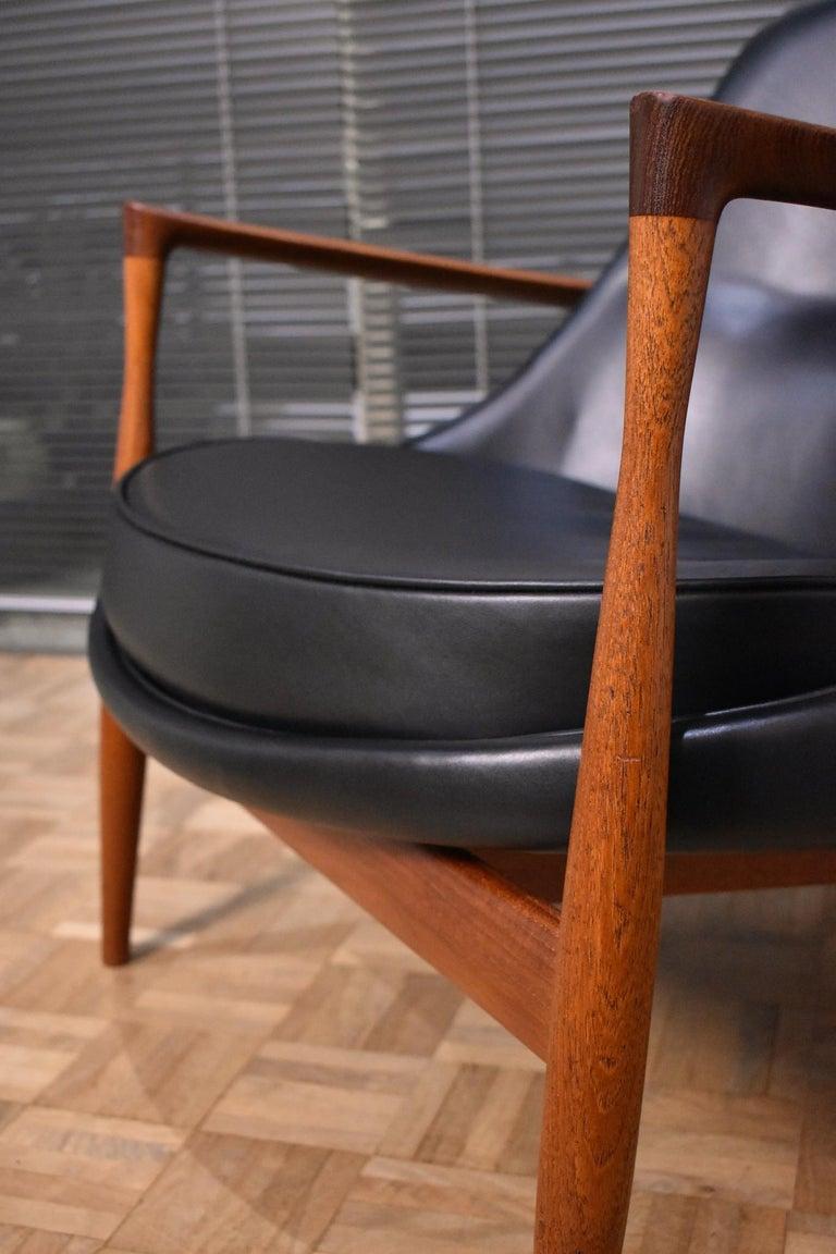 Ib Kofod-Larsen U-56 Elizabeth Chair for Christensen & Larsen For Sale 11