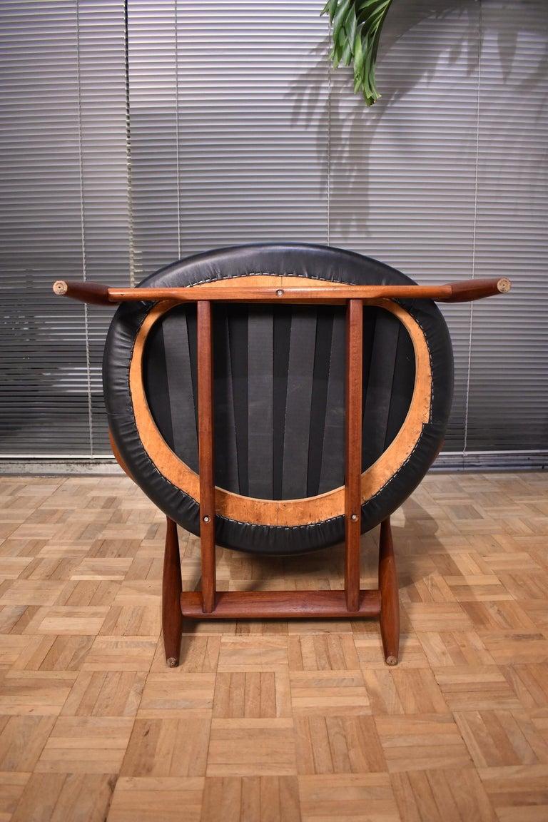 Ib Kofod-Larsen U-56 Elizabeth Chair for Christensen & Larsen For Sale 13