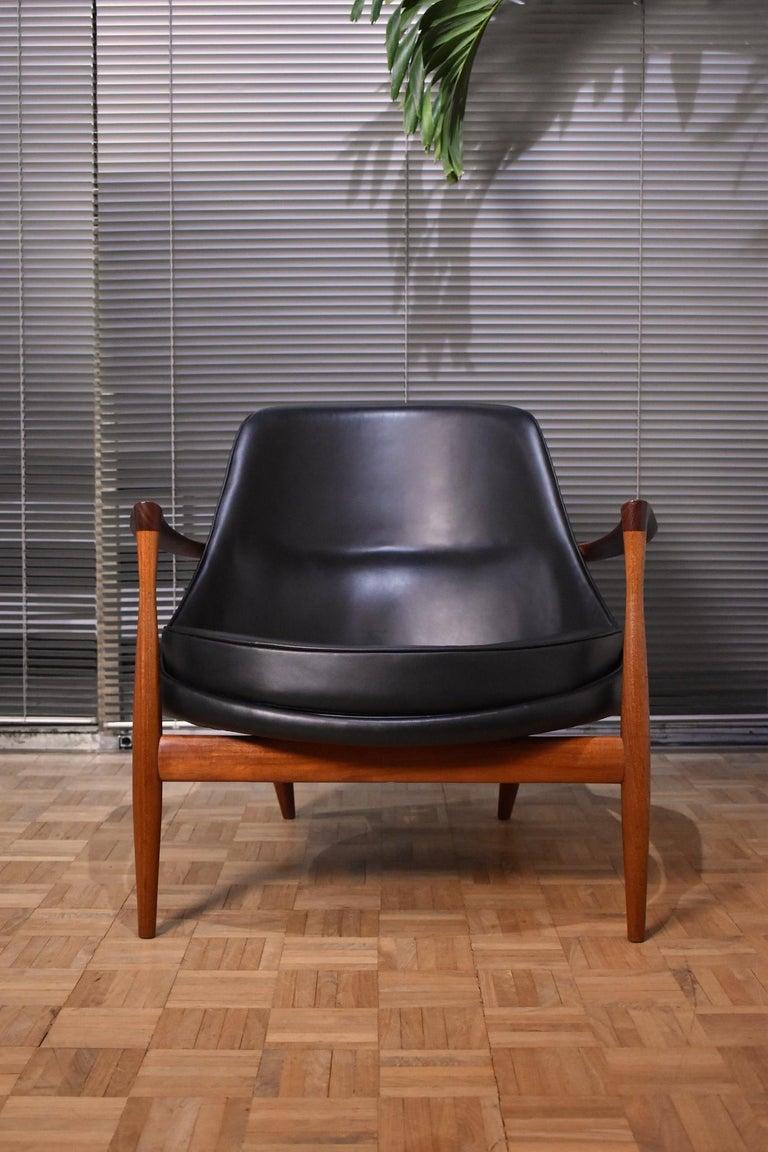 Scandinavian Modern Ib Kofod-Larsen U-56 Elizabeth Chair for Christensen & Larsen For Sale