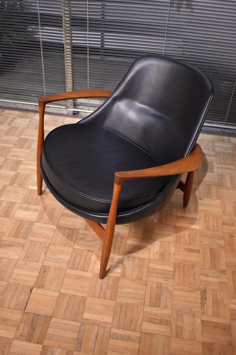 Danish Ib Kofod-Larsen U-56 Elizabeth Chair for Christensen & Larsen For Sale