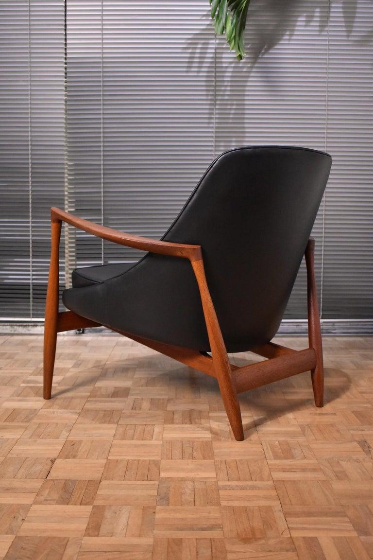 Mid-20th Century Ib Kofod-Larsen U-56 Elizabeth Chair for Christensen & Larsen For Sale