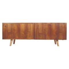 Ib Kofod-Larsen Wooden Sideboard by Faarup Furniture Factory