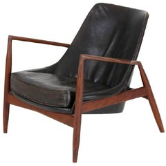 "Ib Kofod Larsen, ""Seal"" Chair, OPE, Sweden, 1956"