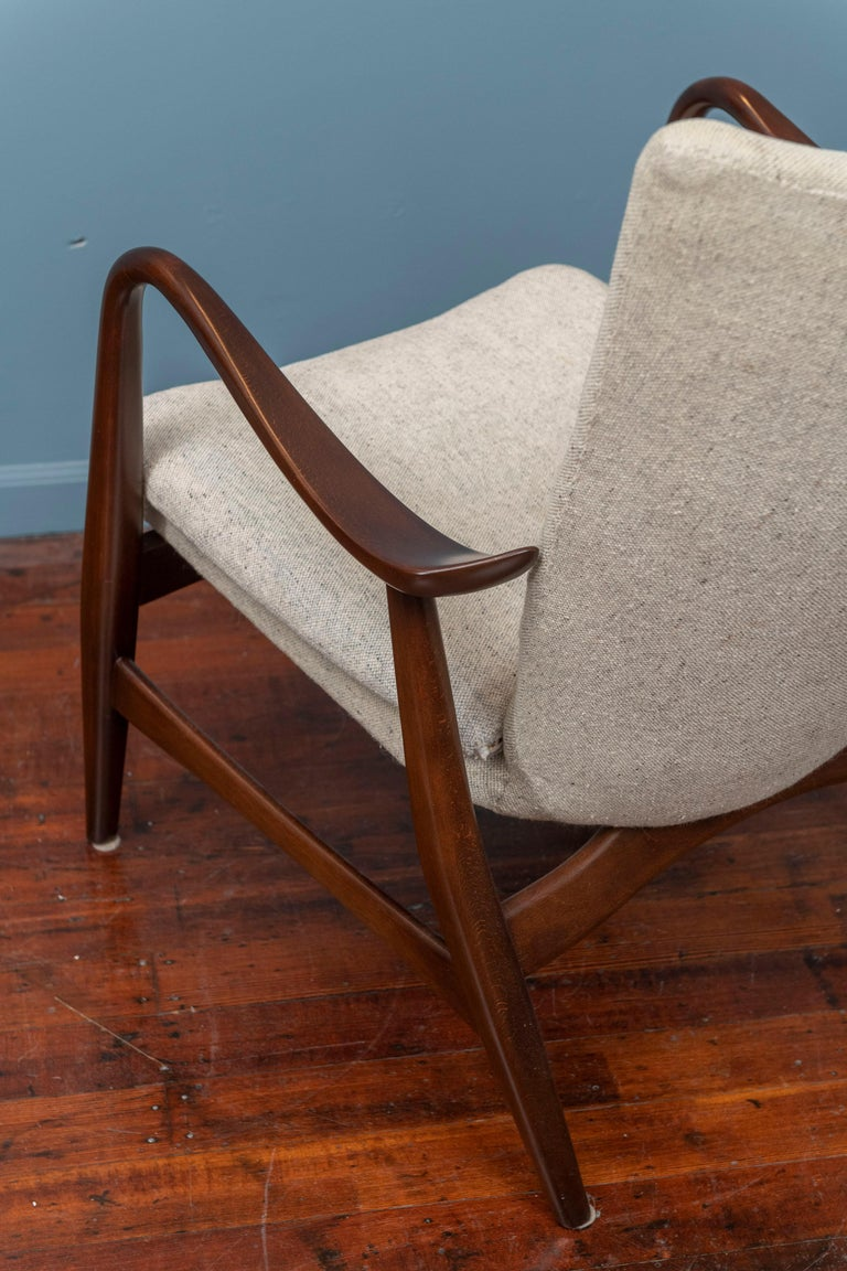 Ib Madsen & Acton Schubell Lounge Chair For Sale 3