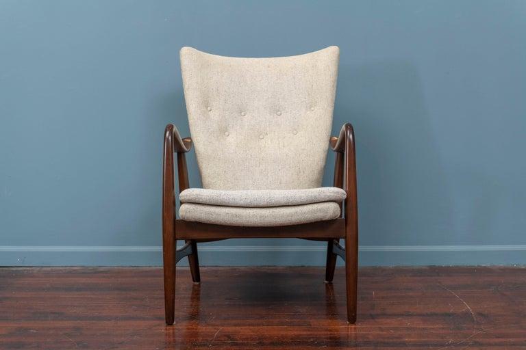 Scandinavian Modern Ib Madsen & Acton Schubell Lounge Chair For Sale