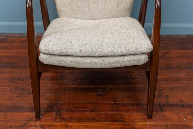 Danish Ib Madsen & Acton Schubell Lounge Chair For Sale
