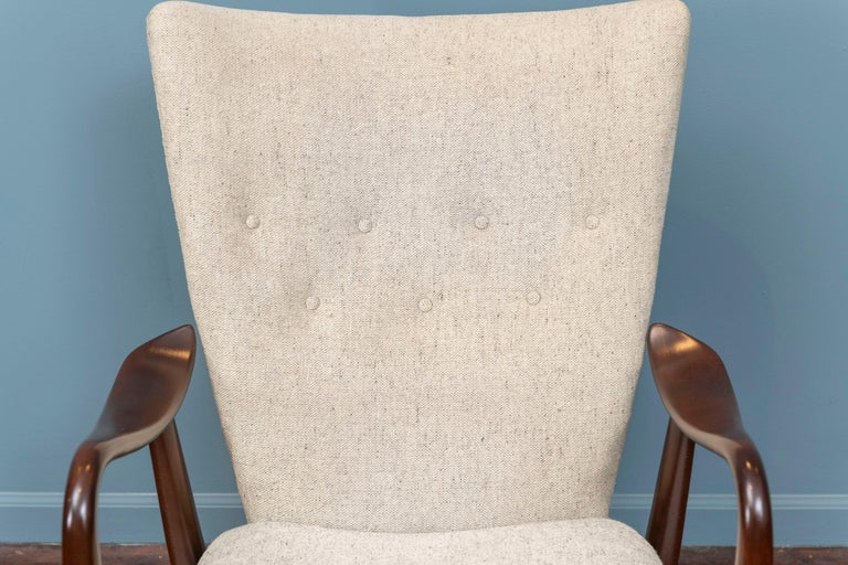 Ib Madsen & Acton Schubell Lounge Chair In Good Condition For Sale In San Francisco, CA