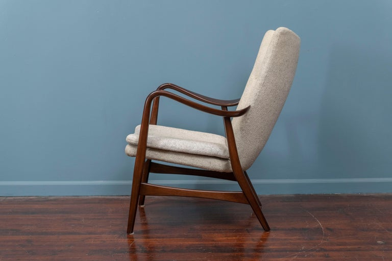 Mid-20th Century Ib Madsen & Acton Schubell Lounge Chair For Sale