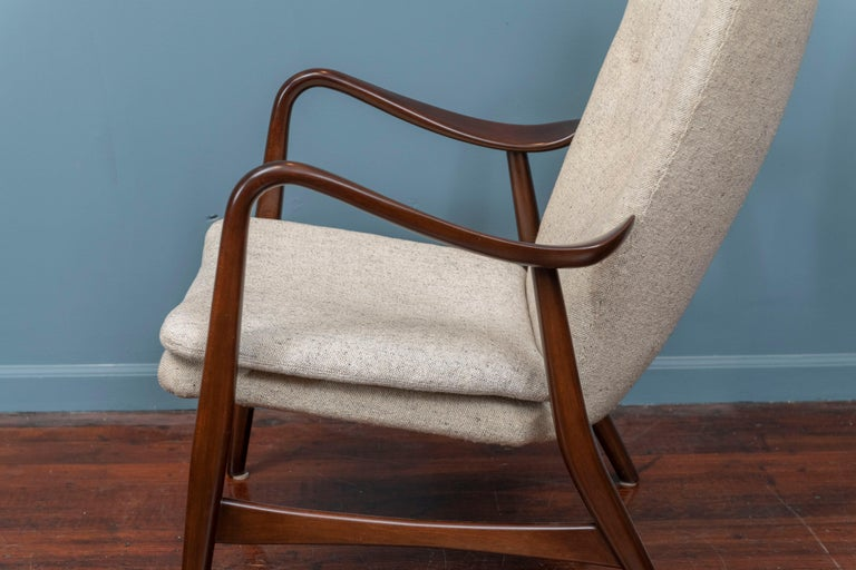 Fruitwood Ib Madsen & Acton Schubell Lounge Chair For Sale
