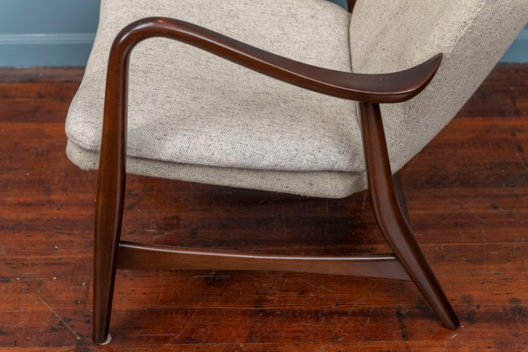 Ib Madsen & Acton Schubell Lounge Chair For Sale 1