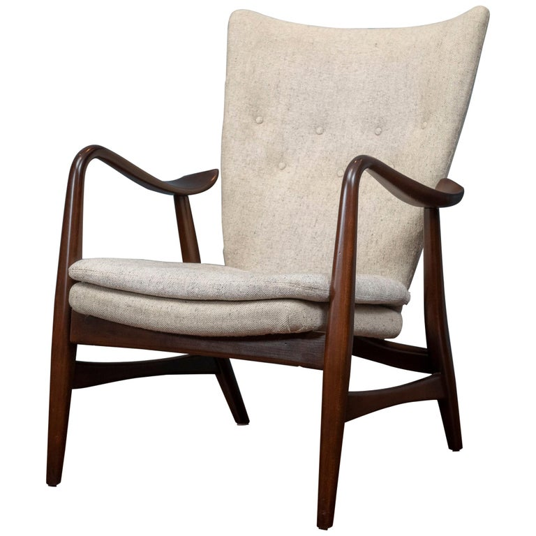 Ib Madsen & Acton Schubell Lounge Chair For Sale