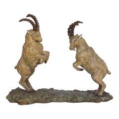Ibex Rutting Sculpture