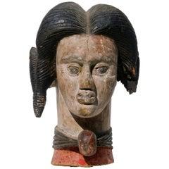 Ibo Head African Sculpture