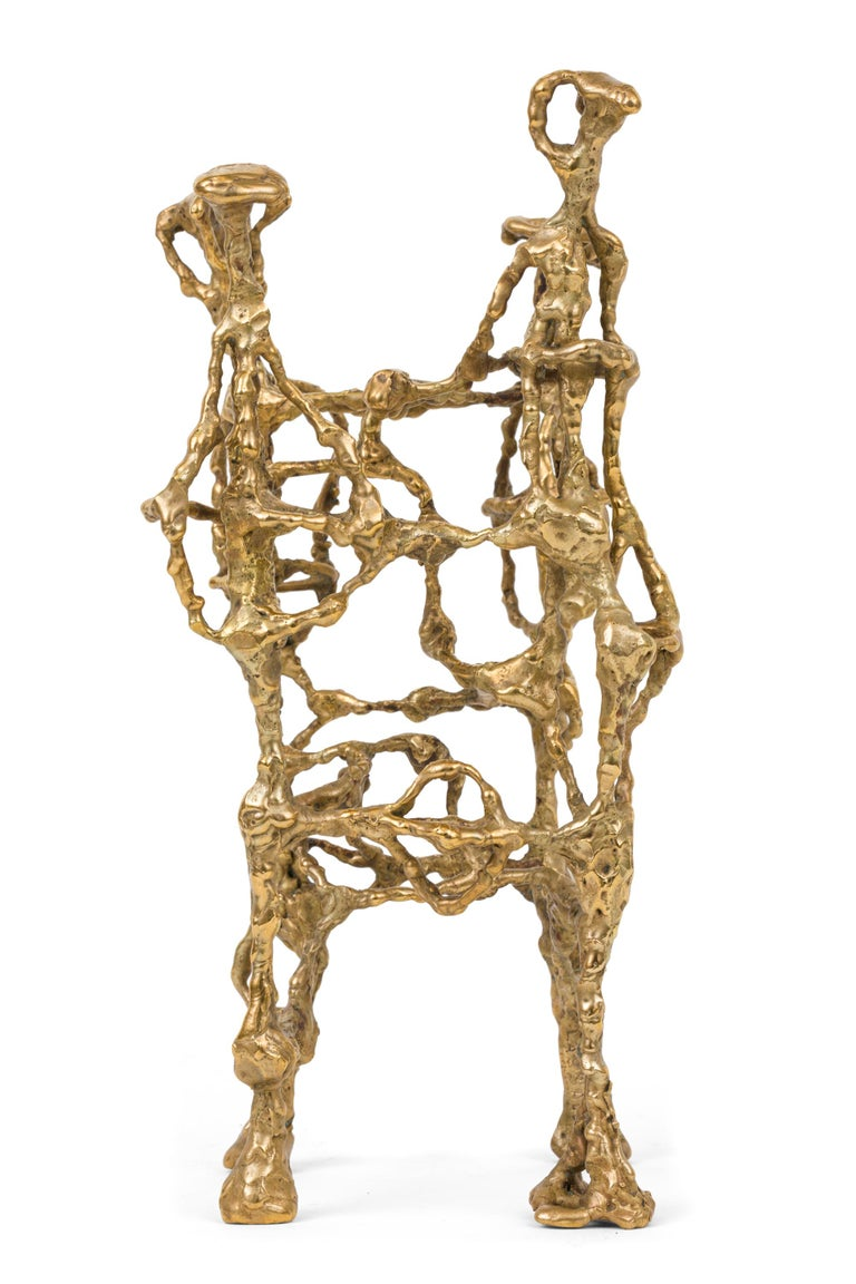 Ibram Lassaw Welded Bronze Abstract Sculpture, USA, 1952 In Good Condition For Sale In New York, NY