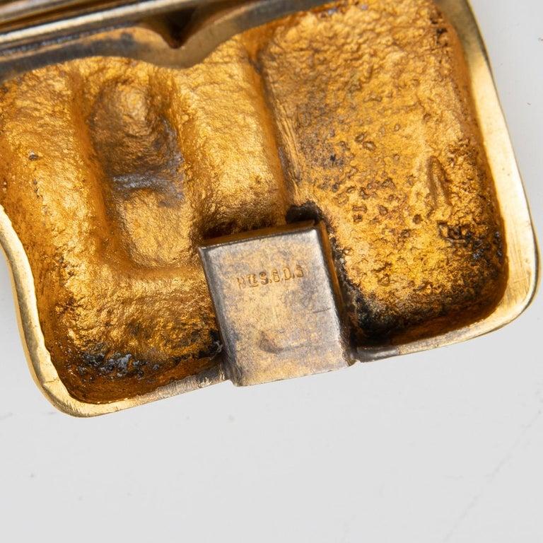"French ""Icare"" Gilded Bronze Bracelet, Line Vautrin 'France' For Sale"